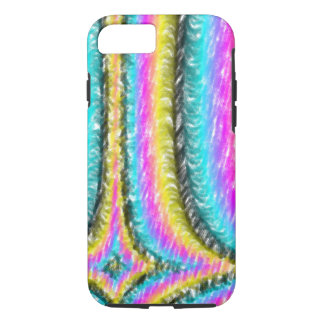 Strange colorful line pattern iPhone 7 case