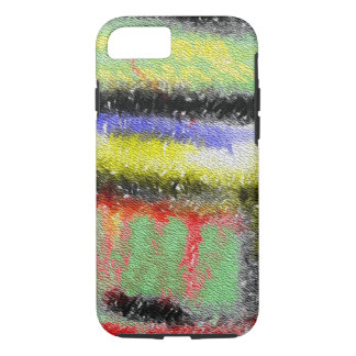 Strange texture colorful pattern iPhone 7 case