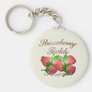 Strawberry Fields Keychain