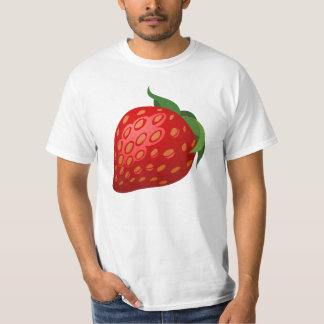 Strawberry illustration t shirts