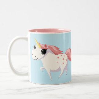 Strawberry the Unicorn Two-Tone Mug