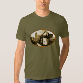 Streamline train - the Twentieth Century Express Tshirts