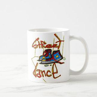 Street Dance and Shoes Basic White Mug