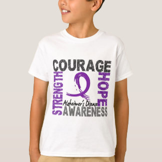 Strength Courage Hope Alzheimer's Disease T Shirt
