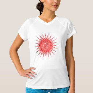 String Art Womens Active Tee