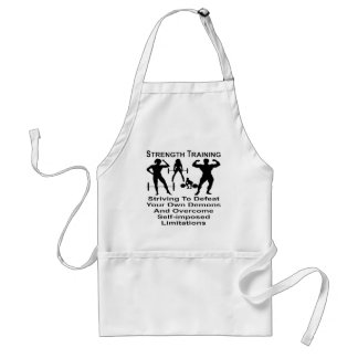 Striving To Defeat Your Self-Imposed Limitations Standard Apron