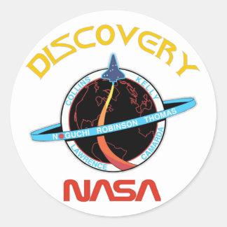 STS 114 Discovery:  Return To Flight Round Sticker