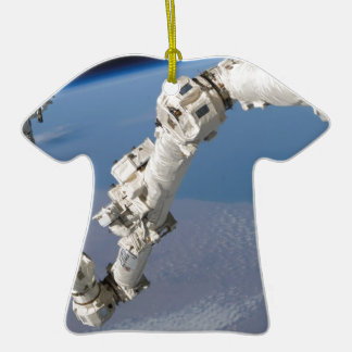 STS-114_Steve_Robinson_on_Canadarm2.jpg Ceramic T-Shirt Decoration