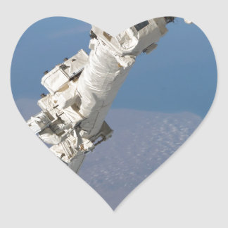 STS-114_Steve_Robinson_on_Canadarm2.jpg Heart Sticker