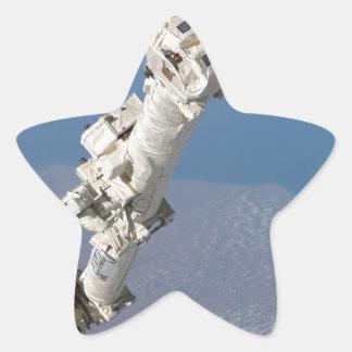 STS-114_Steve_Robinson_on_Canadarm2.jpg Star Sticker