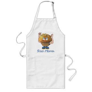Stud Muffin Humor Long Apron