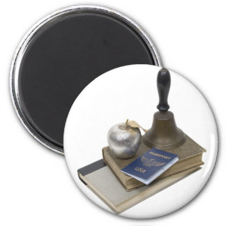 StudiesAbroad062709 6 Cm Round Magnet