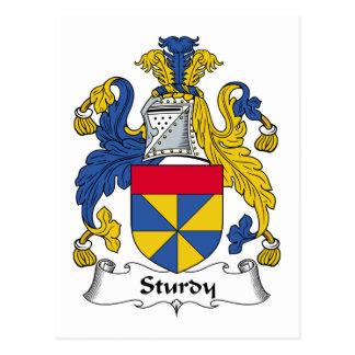 Sturdy Family Crest Postcard