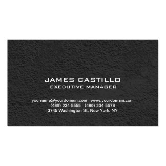 Stylish Black Grey Wall Modern Professional Pack Of Standard Business Cards