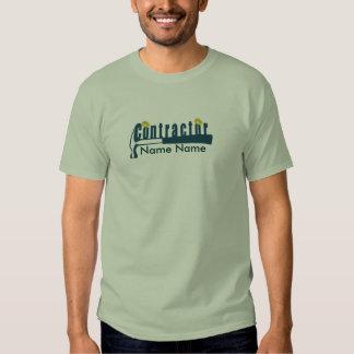 Stylish Contractor   Construction Tshirts