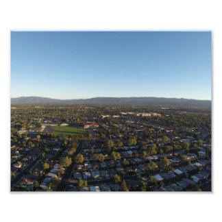 Suburbs in the Valley Photo Art