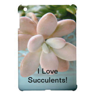 Succulent Sedum Pink Jelly Bean Plant Cover For The iPad Mini