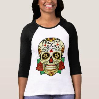 Sugar Skull with Roses Tshirt