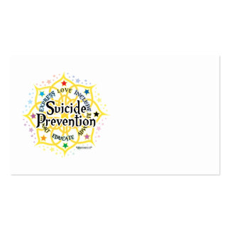 Suicide Prevention Lotus Pack Of Standard Business Cards