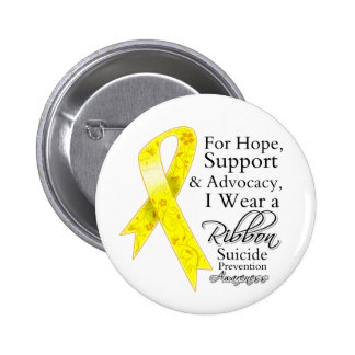 Suicide Prevention Support Hope Awareness 6 Cm Round Badge