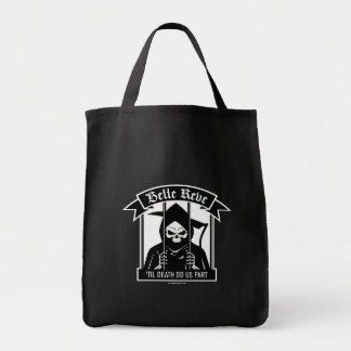 Suicide Squad | Belle Reve Reaper Graphic Grocery Tote Bag