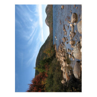 Summary Description Jordan Pond, Acadia National P Postcard