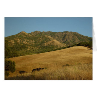 Summer on Mt. Diablo, CA Note Card