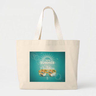 Summer Paradise Design Jumbo Tote Bag
