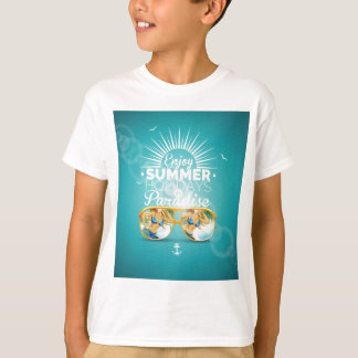 Summer Paradise Design Shirt