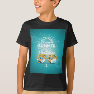 Summer Paradise Design T-shirt