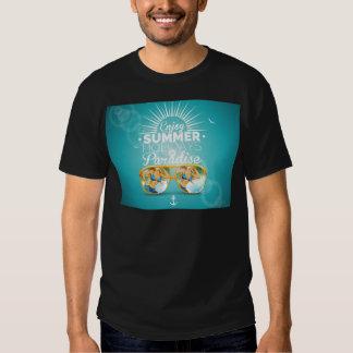 Summer Paradise Design T Shirts
