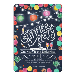 Summer Party Invitation - General
