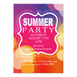Summer Party Marquee Invitation