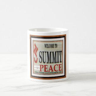 Summit Peace Basic White Mug