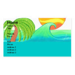 Sun and Surf Business Card Template