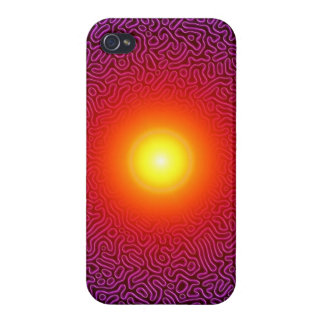 Sun Magic Book Cover For iPhone 4