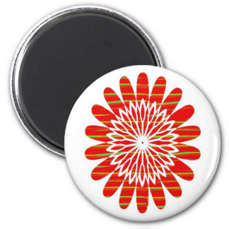 SUN SUTRA : SILKY RICH COLOR Surface by ARTIST 6 Cm Round Magnet