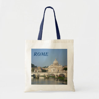 Sunday Morning in Rome Budget Tote Bag