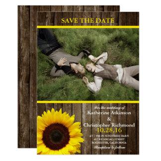 /sunflower theme 13 cm x 18 cm invitation card