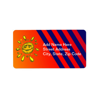 Sunny Day Address Label
