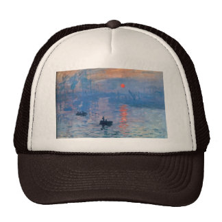 Sunrise - Claude Monet Cap