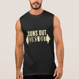 Suns Out Guns Out Fitness Sleeveless T-shirts