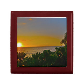 Sunset in Paradise Small Square Gift Box