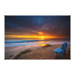 Sunset over the Pacific Ocean Canvas Prints