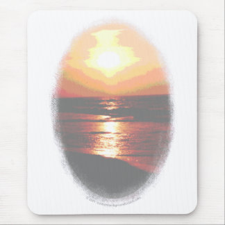 Sunset Transparency Mouse Pad