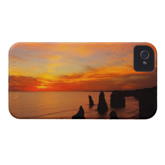 Sunset, Twelve Apostles, Port Campbell National iPhone 4 Case-Mate Case
