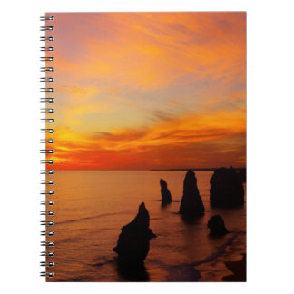 Sunset, Twelve Apostles, Port Campbell National Notebooks