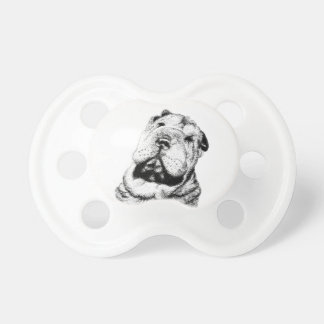 Sunshine State Shar Pei Rescue Baby Pacifier