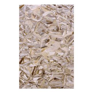 Super Duper Cool OSB Construction Plywood Print 14 Cm X 21.5 Cm Flyer
