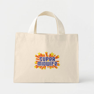 Super Midwife Mini Tote Bag